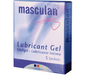Gleitgel - LUBRICANT SACHETS. Packages of 5 sachets available.